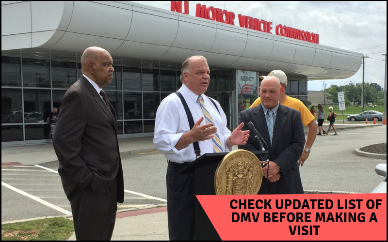 Check DMV updated list