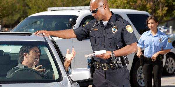 Giving a Traffic Ticket